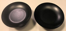 """Pair of Partylite Candle Holders, Holds Candles up to 2-1/2"""" in diameter, Black"""