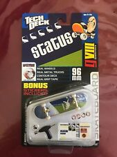Rare Tech Deck Finger board Skateboard Generation 8 Status Spitfire wheels