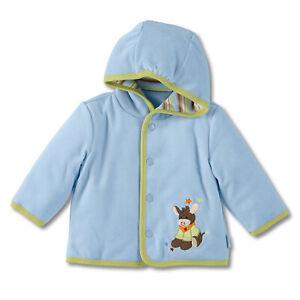 Sterntaler Baby Jungen Jacke Babyjacke Kapuzenjacke Jersey Esel Emmi 95340