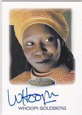 STAR TREK THE WOMEN OF 50TH ANNIVERSARY WHOOPI GOLDBERG AS GUINAN AUTOGRAPH EL