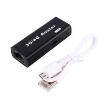 Mini Portable USB Wireless Router 3G/4G WiFi Wlan Hotspot Client 150Mbps RJ45 1x