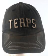 Maryland Terrapins Terps NCAA Distressed Strapback Adjustable Cap Hat