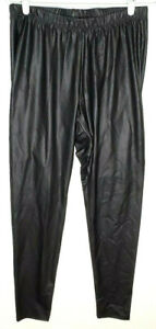 Torrid Womens Leggings 1 Faux Leather Black