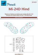Peewit 1/144 Mil Mi-24D Hind # PEE144011