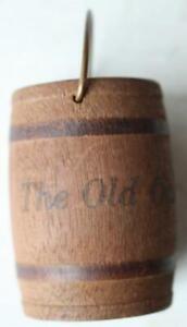 1920-30s Era Indiana Vs. Purdue University Oak 'N Bucket game wood souvenir-IU!