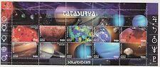 Indonesia Indonesie MS 11 sheet MNH Afbeeldingen Zonnestelsel 2001