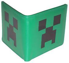Minecraft  Geldbörse ** Creeper Gesicht ** Grün  Lizenzware  NEU&OVP