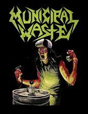 MUNICIPAL WASTE cd cvr THE ART OF PARTYING MW LOGO #2 Official SHIRT 2XL New OOP