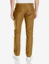 Levi's Men's New 502 0005 30x32 Spicy Brown Battalion Pants Regular Fit To Thigh