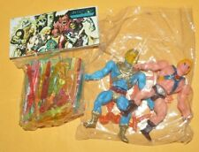 TOY MEXICAN PACK FIGURES BOOTLEG HE-MAN  / SKELETOR AND SWORDS I