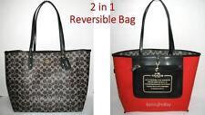 2 in1* NEW $325 COACH F54273 SIG Converse CITI TOTE Shopper Large Bag +Receipt