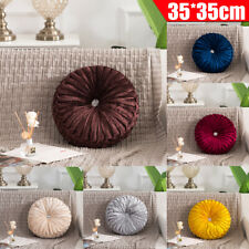 Round Filled Cotton Cushion Throw Pads Pillow Chair Mat Seat Home Sofa  ❥