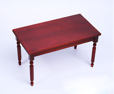 1/6 soldier model table accessories, red wooden rectangular table