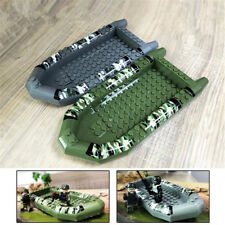 Military SWAT Kayak Building Blocks For Police Figures Accessory Kids Toy Gift