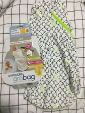 grobag swaddle cosy penguin charcoal Newborn size