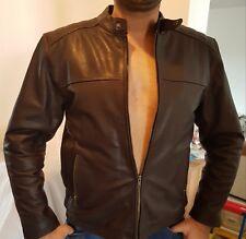 Biker Style Leder Jacke