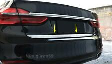 For BMW 7 SERIES G11/G12 2016 2017 Stainless Steel Rear Tail Gate Molding Cover