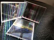 6PCS 4.5X5.0X0.3cm Defective lens Prism Optical Glass Physics Decorative prism