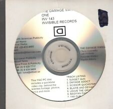 the damage manual one cd promo chris connelly jah wobble martin atkins