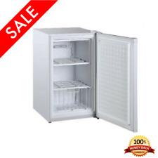 UPRIGHT FREEZER Small Mini 3 Cu Ft Shelves White