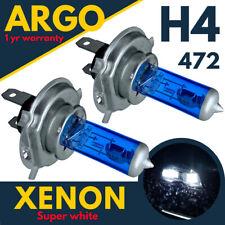 H4 100w Xenon Bombilla para Faro Super Blanco 8500k Lámpara Luz Hid Efecto 12v
