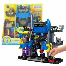 Nouveau DC legends of batman Robo une Batcave Playset & Figurine imaginext officiel