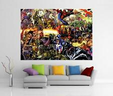 THE AVENGERS ASSEMBLE IRON MAN HULK THOR MARVEL GIANT WALL ART  PRINT POSTER H52