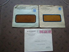 BELGIQUE - 3 enveloppes (cy80) belgium