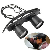 Outdoor Adjustable Fishing Telescope Glasses Polarized Lens Hiking Magnifier.