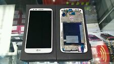 Lg G2 D800 D801 Ls980 White Lcd Touch Display with Frame part