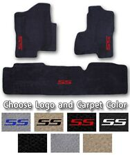 2003-2006 Chevrolet Silverado SS Carpet Floor Mats-Choose Color & Official Logo