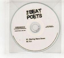 (GV384) The Beat Poets, Staring Stars Down - DJ CD