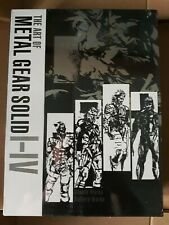 The Art of Metal Gear Solid I - IV Artbook (NEW/SEALED)