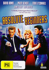 Absolute Beginners-1986 DVD-Patsy Kensit-Eddie O'Connell-David Bowie-Ray Davies