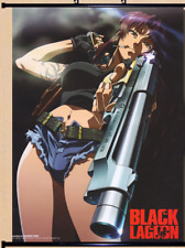 Anime BLACK LAGOON Revy Home Decor Poster Wall Scroll as gifts 40*60cm