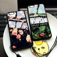 TROPICAL FLOWERS SILICONE TPU SOFT BACK CASE COVER FOR APPLE IPHONE 6 6S 7 PLUS