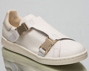 adidas Stan Smith Buckle Women's Off White Casual Lifestyle Sneakers Shoes