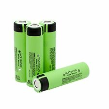 1 Genuine Panasonic 18650 3400mAh Rechargeable Battery NCR18650B Li-ion Flat Top