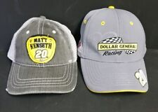 bff2c45cf14b7 Lot of 2 Matt Kenseth Dollar General Racing Chase Authentics Hats Large