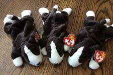 Bruno the Dog Ty Beanie Baby Babies RETIRED Lot of 3 Puppy dogs