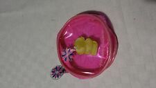 Portafoglio porta monete trasparente FOREVER FRIENDS orso rotondo tondo rosa