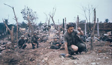 Vietnam War USMC Marines In Hue City Tet Offensive 1968 High Gloss 8.5x11 Photo