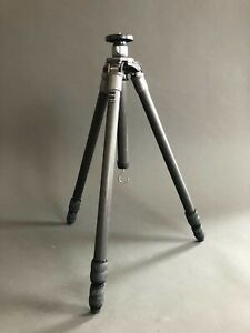 Gitzo G1227LVL Carbon Fiber Leveling Tripod Camera Photography Scope