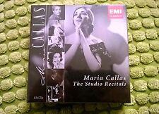 MARIA CALLAS -The Studio Recitals -Box 13 CD - NUOVO!!!