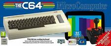 The C64 MAXI Retro Computer Console Commodore 64 plus joystick LAST IN USA STOCK