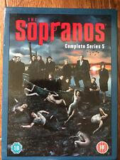 LOS SOPRANO ~ Temporada 5 ~ HBO American Crime Drama Serie de TV GB DVD BOX SET