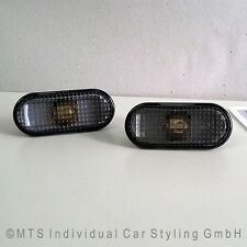 SCHWARZE Seitenblinker VW Golf 4 R32 Bora Lupo Polo 9N Passat 3B Fox Bus T5 up !