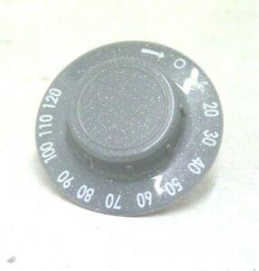 Hotpoint TVEM70 Condenser Tumble Dryer Timer Control Knob in Grey