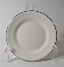 """2 Wedgwood SILVER ERMINE 6-1/8"""" Bread & Butter Plates EXCELLENT"""