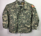 US Military Cold Weather Field Jacket Coat Digital Camouflage Size Med/ Short